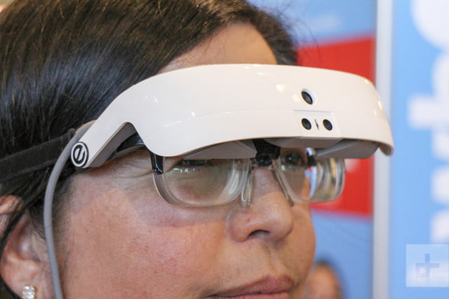 Smart glasses enable the blind to see