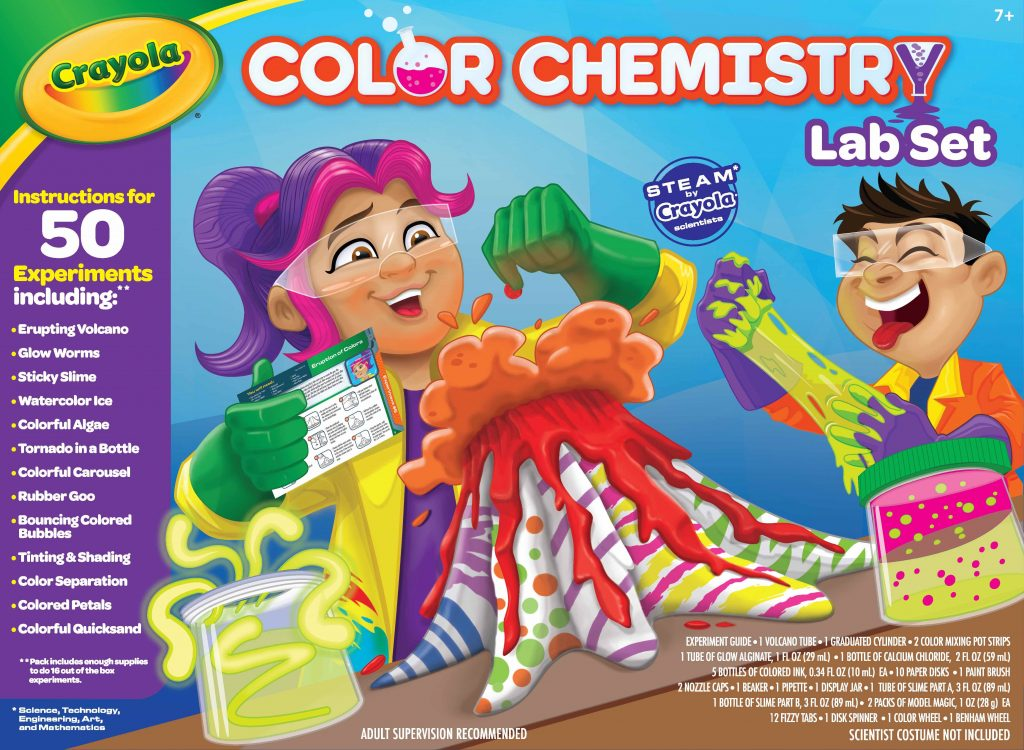 Crayola New Releases: Crayola Color Chemistry Lab Set | Cool Mom Tech