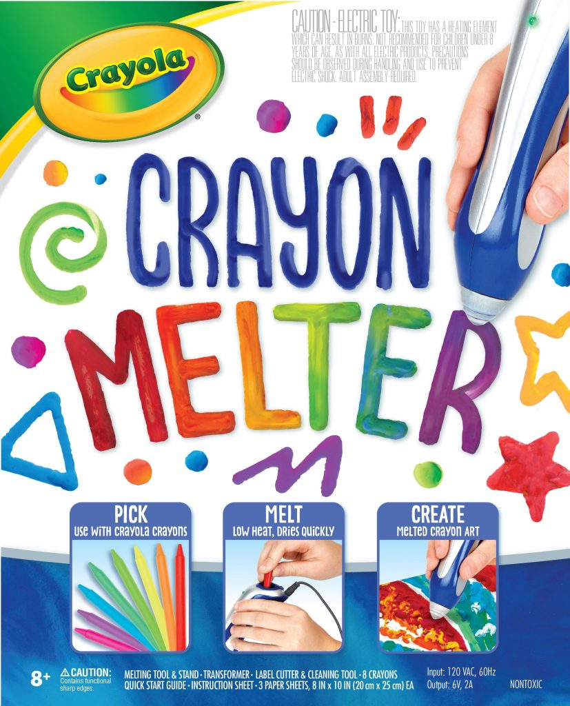 Crayola New Releases: Crayola Crayon Melter | Cool Mom Tech