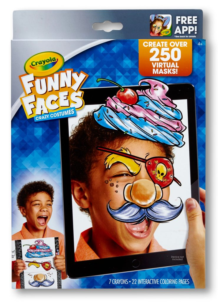 Crayola New Releases: Crayola Funny Faces Crazy Costumes | Cool Mom Tech