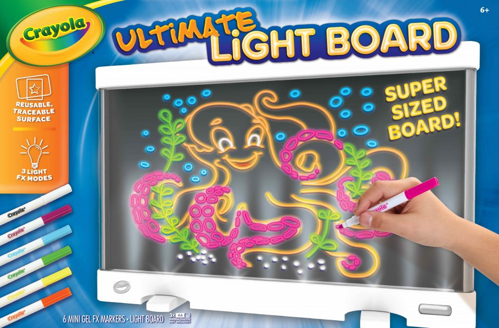 Crayola New Releases: Crayola Ultimate Light Board | Cool Mom Tech