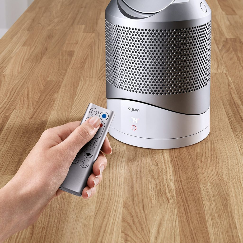 Great tech baby shower gift splurges: The Dyson Hot-Cool Link Heater/Fan/Air Purifier | Cool Mom Tech