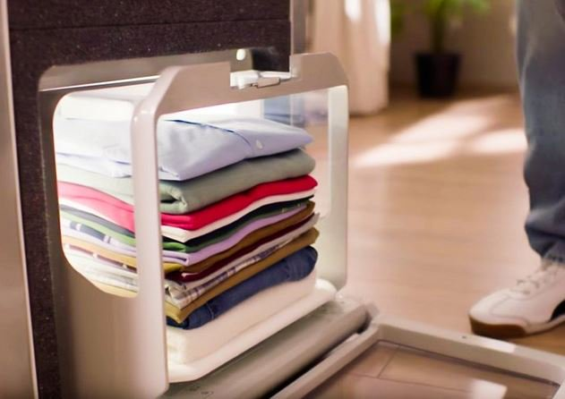 Foldimate: Perfect high-tech baby gift, since it auto-folds your laundry!