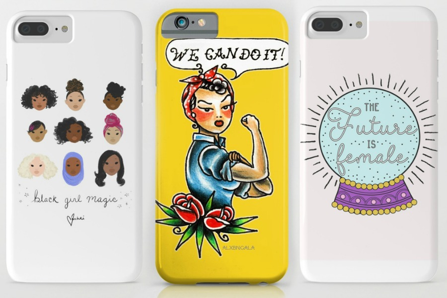 10 awesome girl power phone cases for International Women's Day….and every day