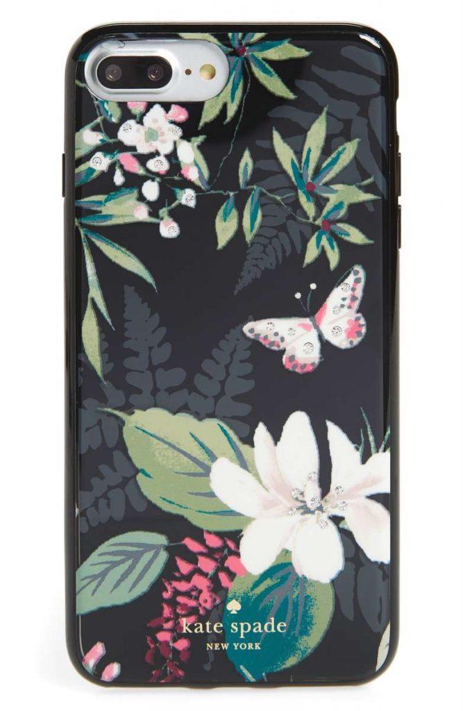 Spring 2018 fashion trends: Kate Spade botanical iPhone case