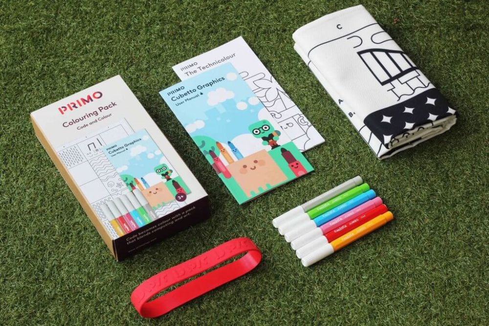 Cubetto accessories: the new Code & Color pack from Primo Toys