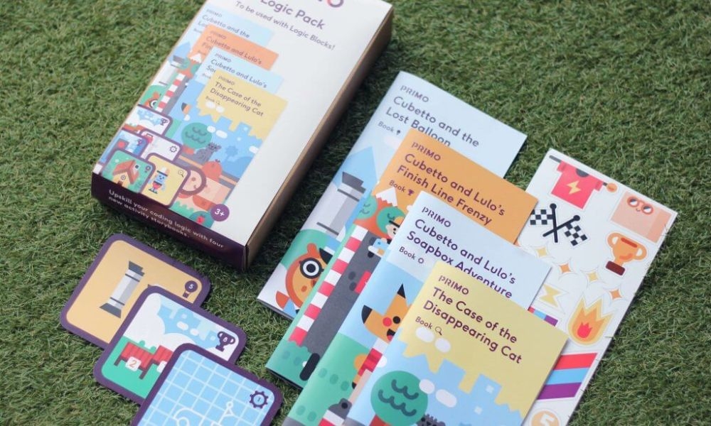 Cubetto accessories: new Logic Pack cards from Primo Toys