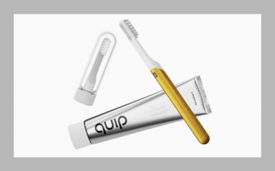 A very cool limited edition toothbrush, for a very cool cause.