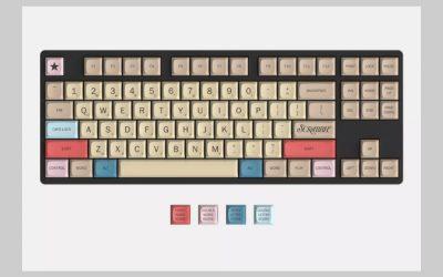 This Scrabble keyboard is a triple word SCORE!