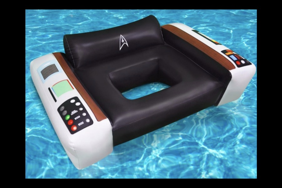 Live long and relax, with this Star Trek pool float.