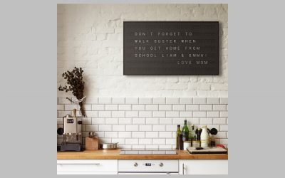 Vestaboard is going to make your kitchen wall a whole lot cooler.