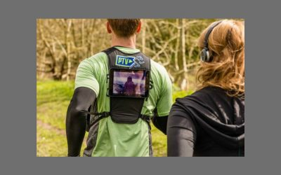 You can now watch TV while running outside. No, it's not April Fool's Day.