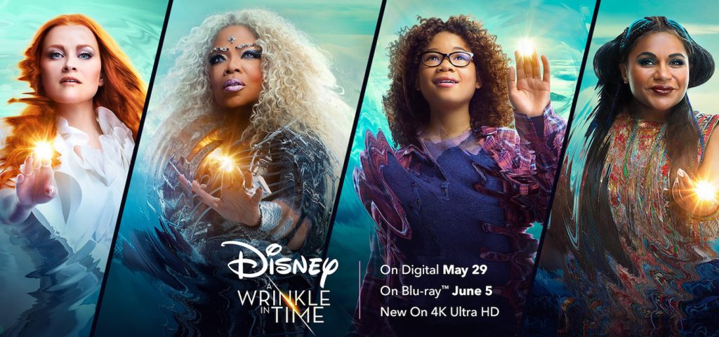 Disney's A Wrinkle In Time, coming to digital and Blu-Ray soon!
