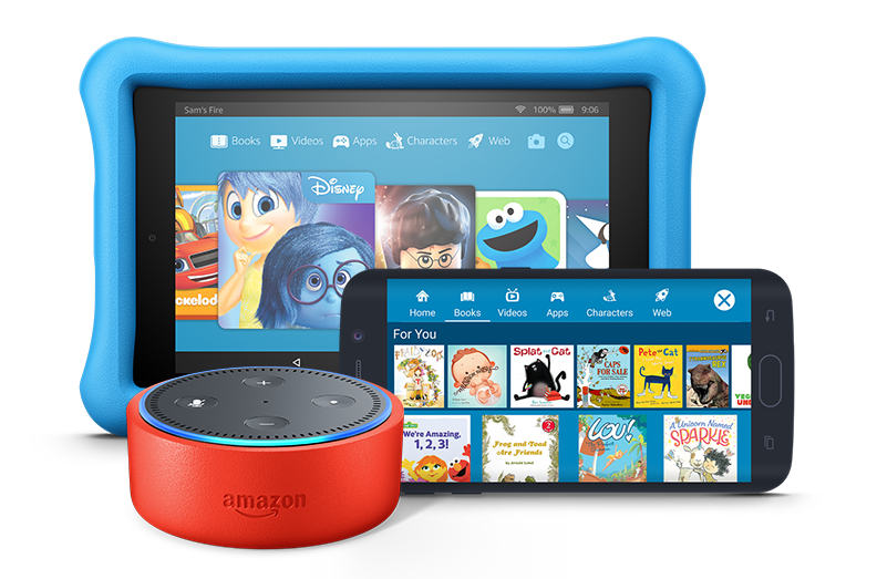 The new Amazon Echo Dot for Kids includes a free first year of Kindle FreeTime Unlimited