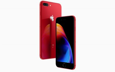 Support an amazing cause with a new red iPhone 8 or 8 Plus. Time for an upgrade!