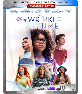 Disney's Wrinkle in Time DVD coming in June, 2018