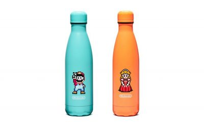 These Nintendo water bottles are S'well. Literally.