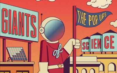 The Pop Ups kill it with their new synth pop album Giants of Science.