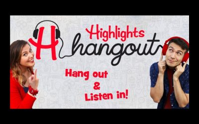 The new Highlights Hangout podcast brings your kid's favorite magazine to their ears