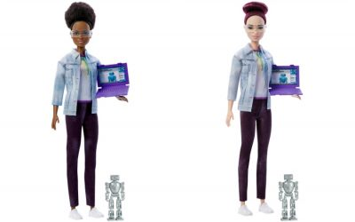 Meet Robotics Engineer Barbie, and how she's helping get girls excited about STEM