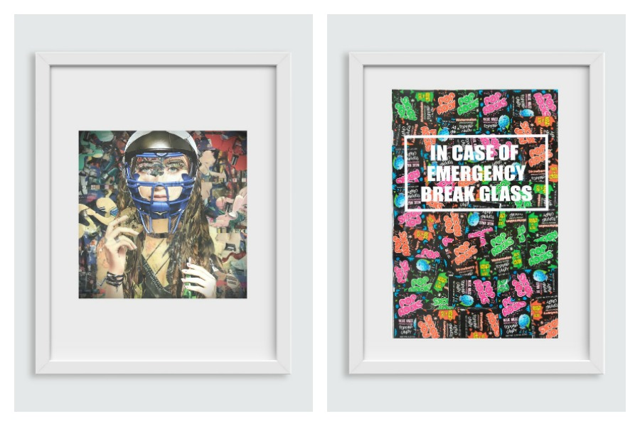 This cool artwork helps support Girls Who Code. Score!