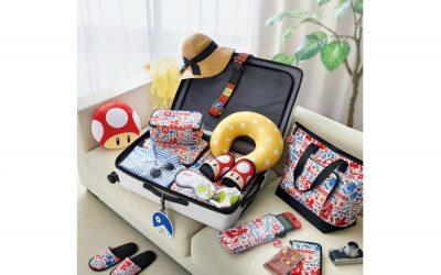 Super Mario luggage, wahoo!