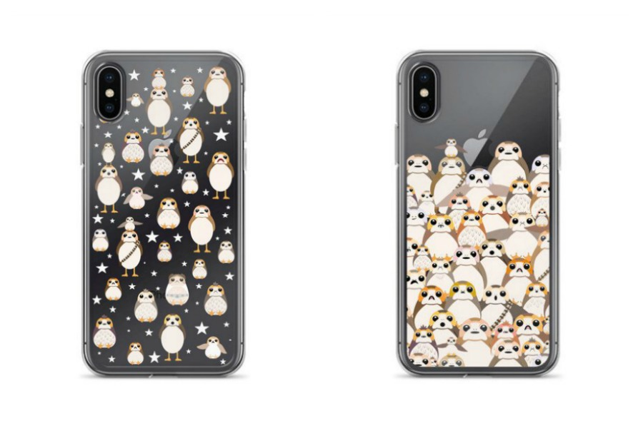 We have found Porg cases for your phone, and they are the best thing ever.