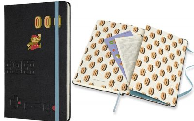 The Super Mario Moleskine collection takes notebooks a level up.