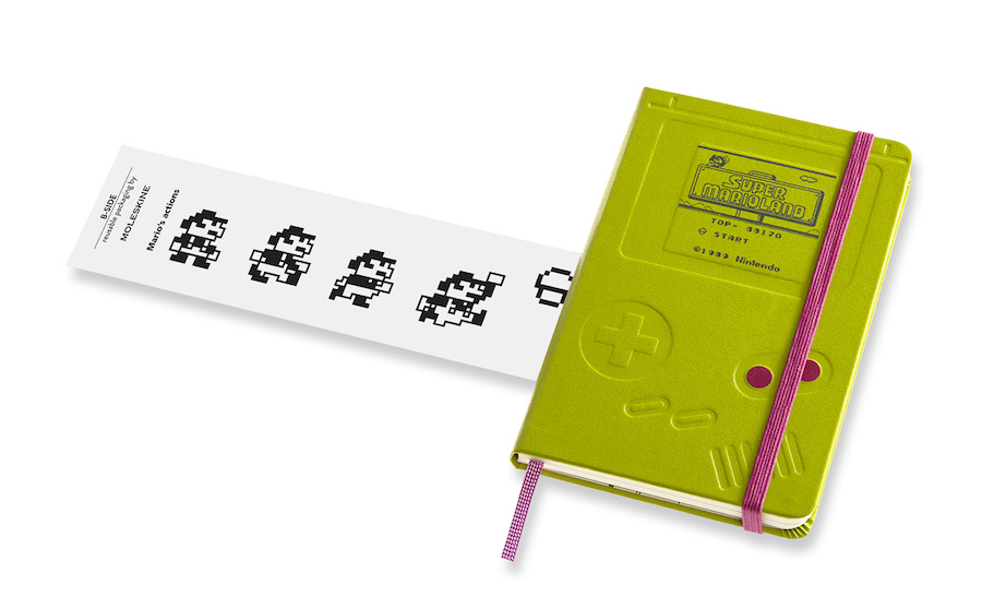 Super Mario Moleskine notebook collection: Game Boy