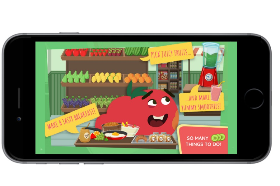 Kinsane Fruits Vs Veggies app for kids offers fun, safe, self-directed playtime (sponsor)