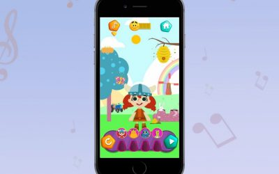 This fun, safe new app from KinToons lets your kid play DJ….with nursery rhymes!