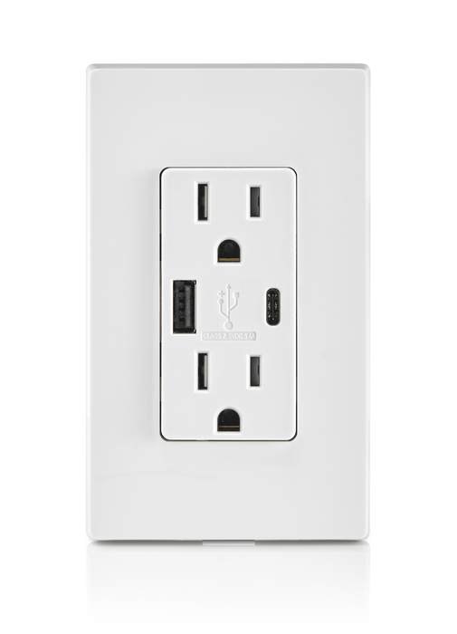 Sponsor | Leviton USB charging outlet charges gadgets faster and more efficiently