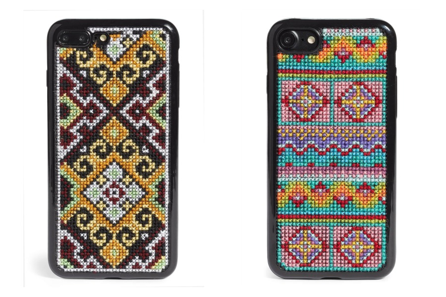 Beautiful hand-embroidered iPhone cases, just in time for fall