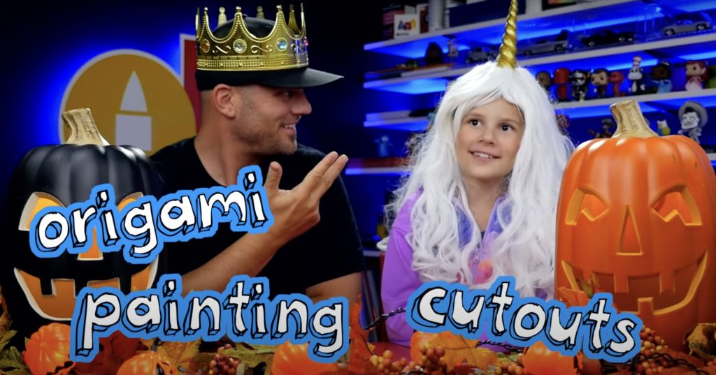 Art for Kids on YouTube has some fun Halloween crafts to keep the kids engaged