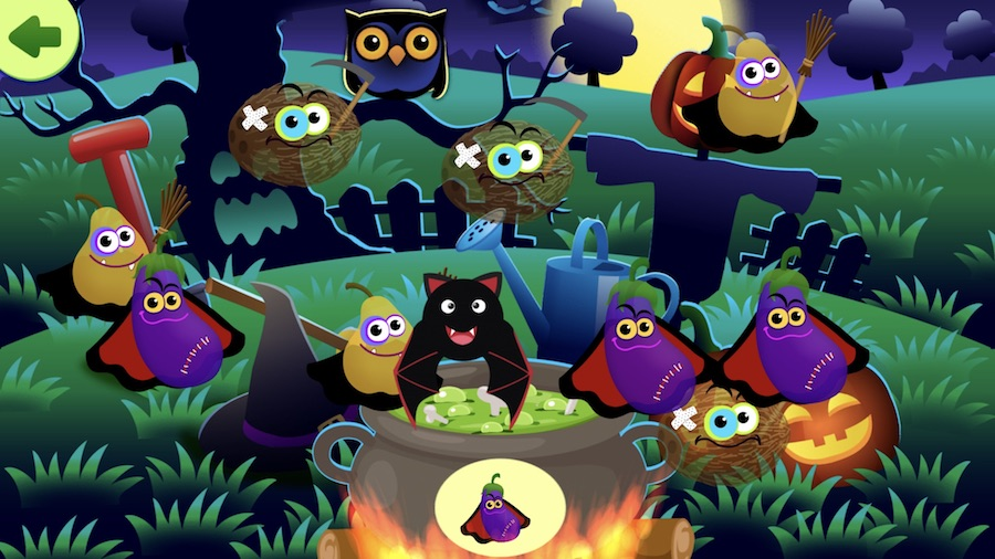 Not-too-scary Halloween apps for kids: Funny Food