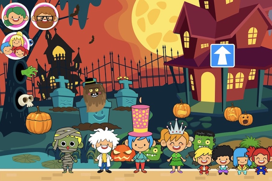 5 fun, not-too-scary Halloween apps for kids
