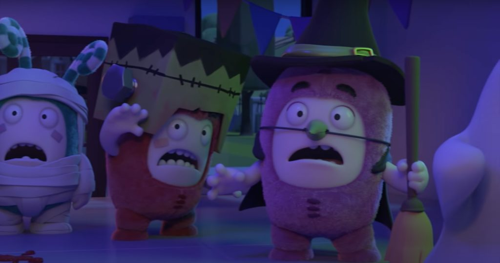 The Oddbods Halloween special on YouTube Kids