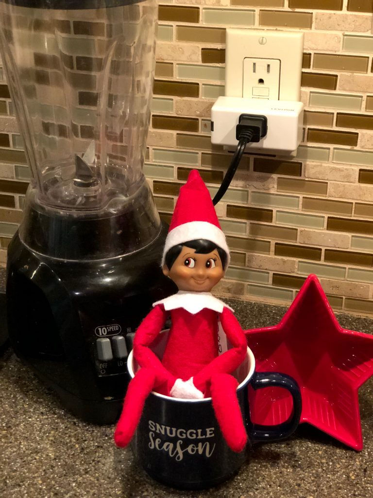 How to use the Leviton Decora Smart Mini Plug-In to make your holidays more fun: Bring your Elf on the Shelf to life | Sponsor