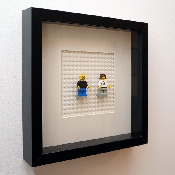FamousBrick LEGO Minifigure Famous Frame