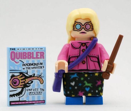 FamousBrick LEGO Minifigures: Luna Lovegood