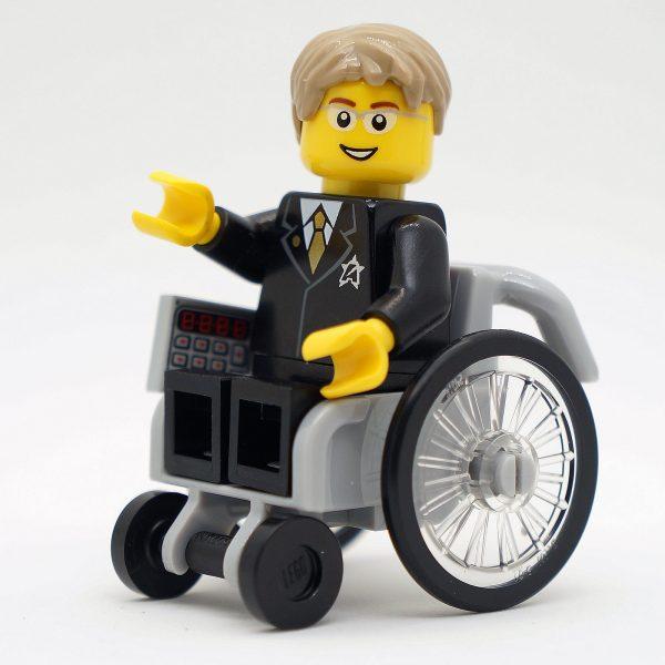 FamousBrick LEGO Minifigures: Stephen Hawking