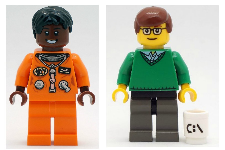 FamousBrick LEGO minifigures bring their favorite famous people down to size