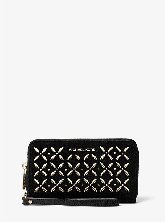 Stylish tech gifts for the trendsetter in your life: Stylish tech gifts for the trendsetter in your life: Michael Kors smartphone wristlet