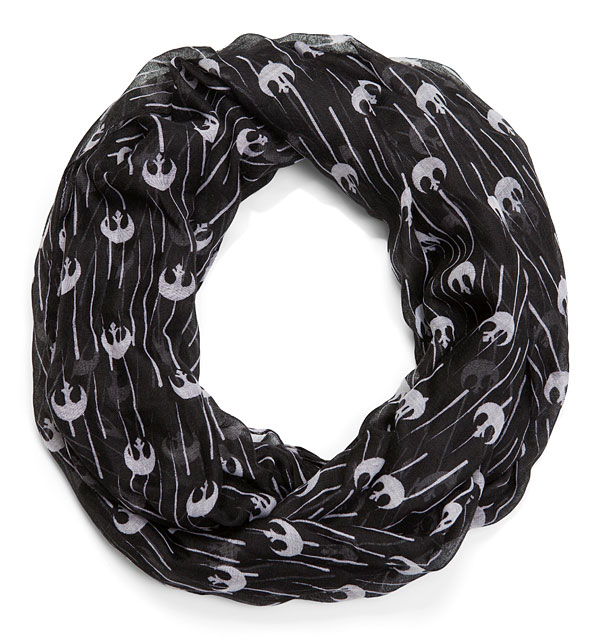 Delightfully geeky gifts for $20 | Rebel Alliance Infinity Scarf