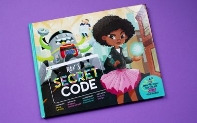 The new Secret Code book and app teach girls to solve problems with coding