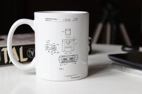Delightfully geeky gifts under $20 | Super Nintendo console mug