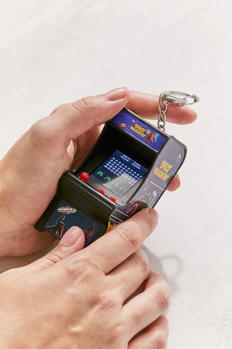 Coolest tech stocking stuffers: Mini Space Invaders game