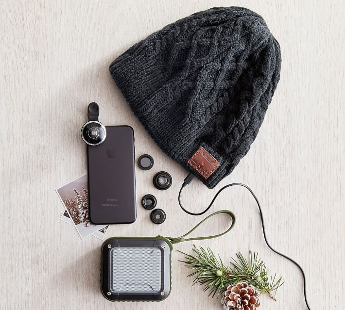 Tech Holiday Gift Guide: Teen Tech Gifts | Bluetooth Beanie
