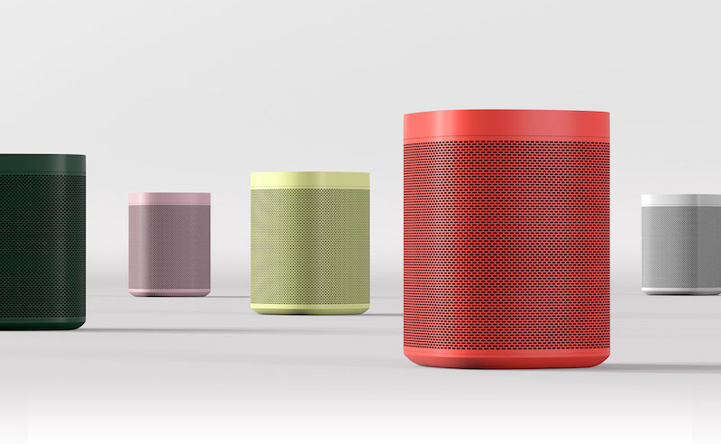 Tech Holiday Gift Guide: Teen Tech Gifts | Sonos One + HAY limited edition speakers