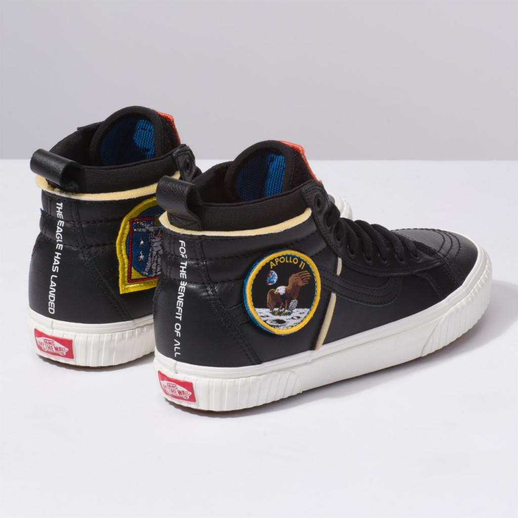 Vans x Space Voyager Sk8-hI 46 MTE DX sneakers in partnership with NASA